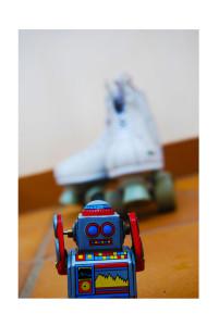 robot patin