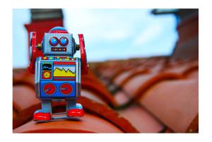 robot tejado