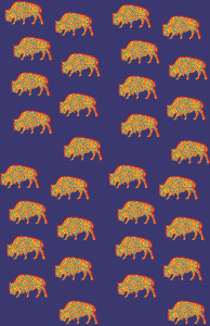 pattern-buffalo